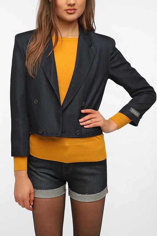 Urban Renewal Cropped Boys Blazer