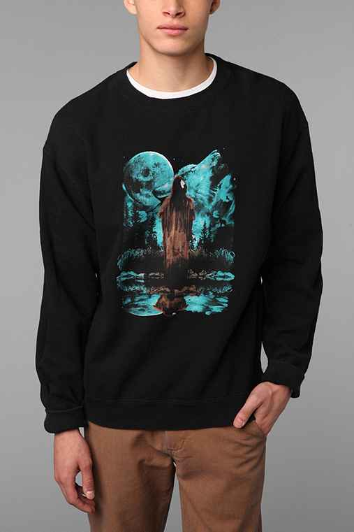 Urban Renewal Vintage Graphic Pullover Sweatshirt