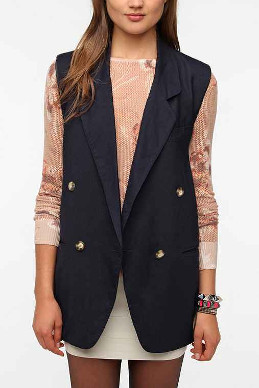 Urban Renewal Sleeveless Blazer