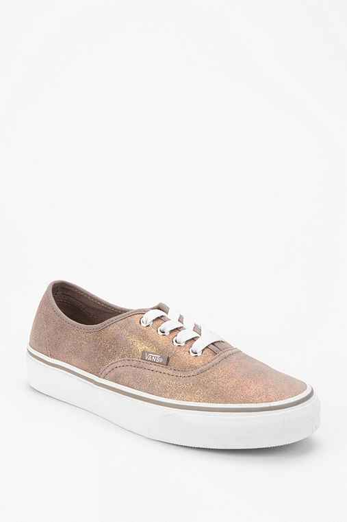 Vans Authentic Shimmer-Suede Sneaker