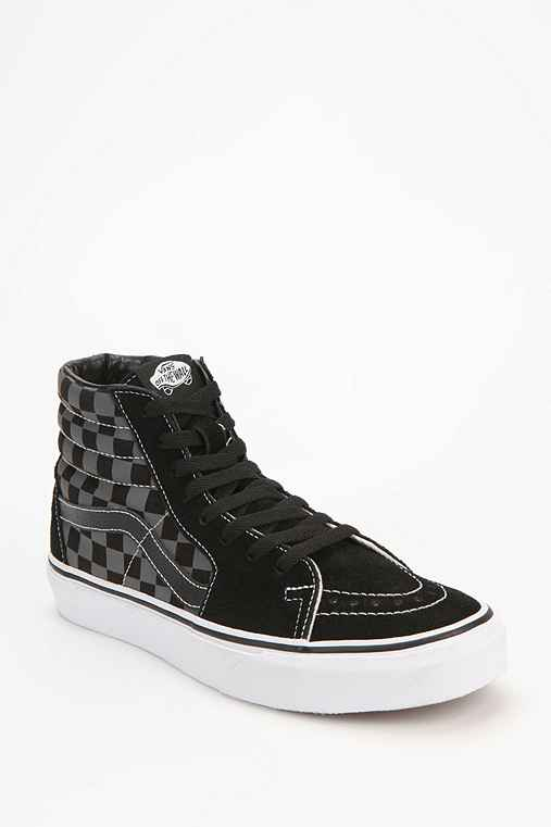 Vans Sk8-Hi Checkerboard Women's High-Top Sneaker