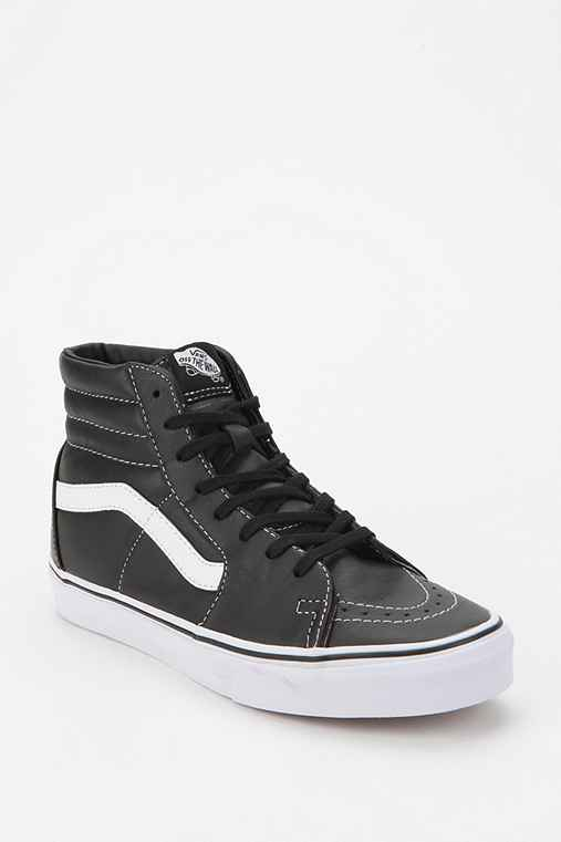 Vans Sk8-Hi Leather High-Top Sneaker