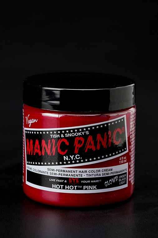 Manic Panic Classic Cream Hair Dye: Hot Pink One Size Hair Color