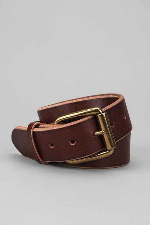 Bill Adler Leather Belt