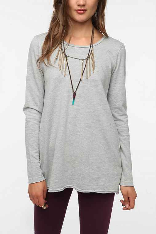 Truly Madly Deeply Tunic Sweatshirt