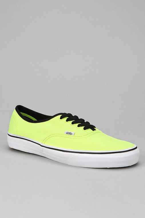 Vans Authentic Neon Sneaker