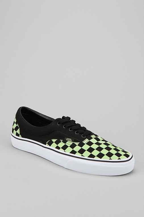 Vans Era Glow-In-The-Dark Checkerboard Sneaker