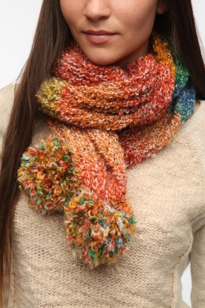 Staring at Stars Rainbow Sprinkle Scarf