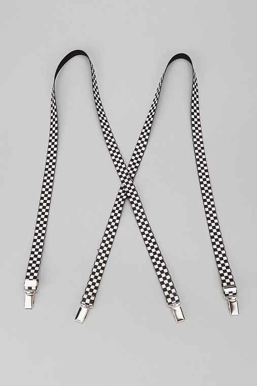 Checkered Suspender