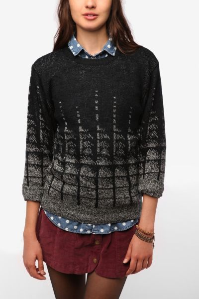 Urban Renewal Resized Crazy Patterned Sweater