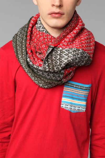Colorblock Eternity Scarf