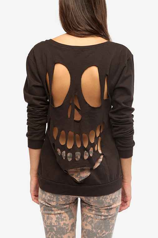 Truly Madly Deeply Cutout Sweatshirt - Urban Outfitters