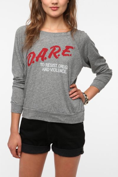 Recycled Karma D.A.R.E. Long-Sleeved Top