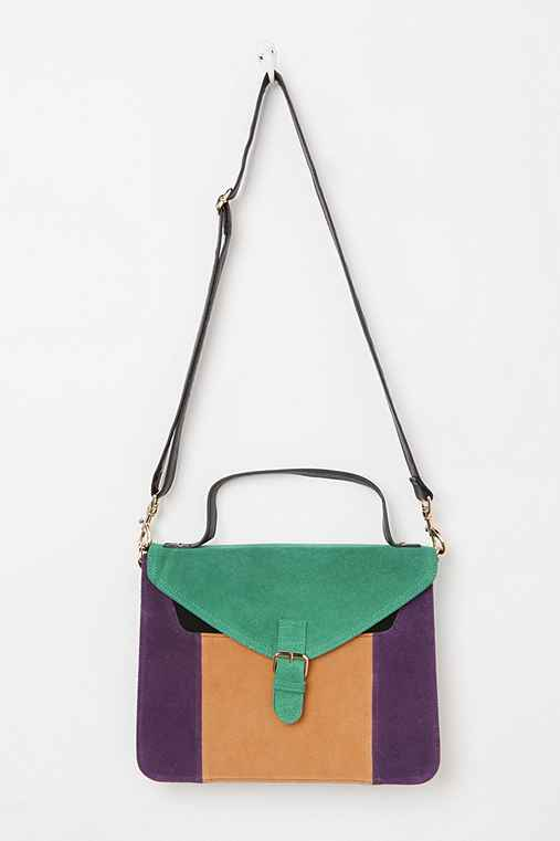 Cooperative Structured Colorblock Satchel