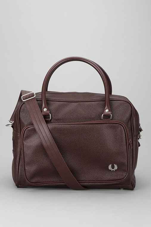 Fred Perry Scotch Grain Holdall Bag