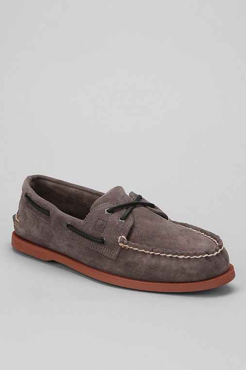 Sperry Top-Sider 2-Eye Suede Boat Shoe