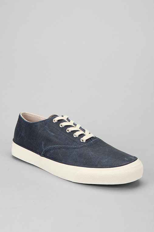 Sperry Top-Siders Cloud Logo CVO Rubber Canvas Sneaker