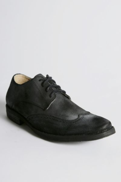 Bed Stu Blacked Wingtip Shoe