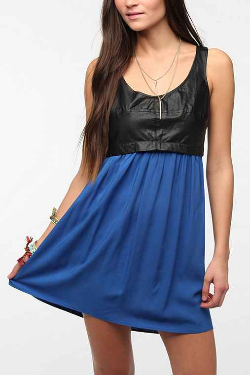 Urban Renewal Leather Top Dress