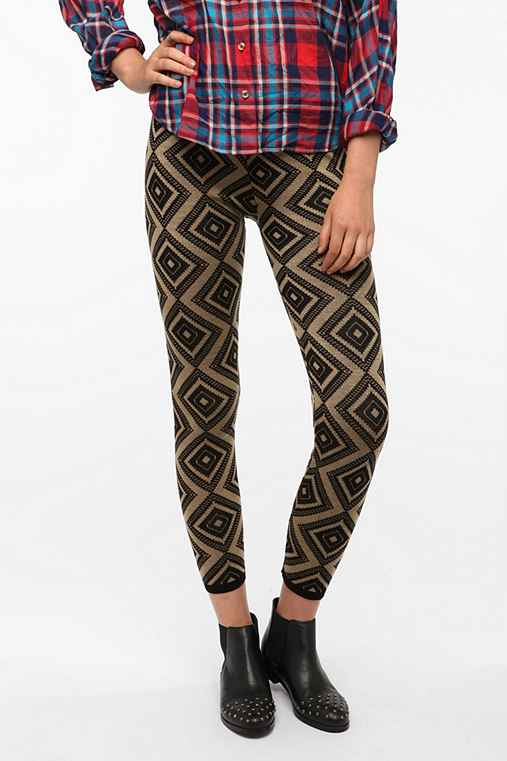 BDG Geo Knit High-Rise Legging