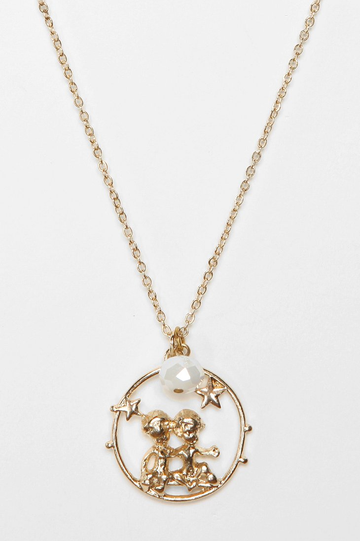 Zodiac Necklace - Urban Outfitters