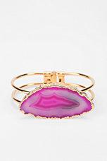 Soixante Neuf Jewels Agate Cuff Bracelet