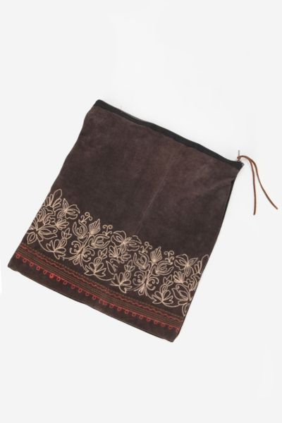Urban Renewal Suede Clutch