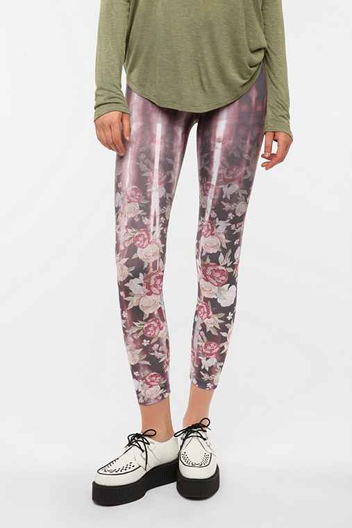 BDG Faded Floral High-Rise Legging