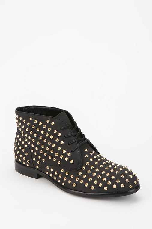 Matiko Oliver Studded Lace-Up Ankle Boot