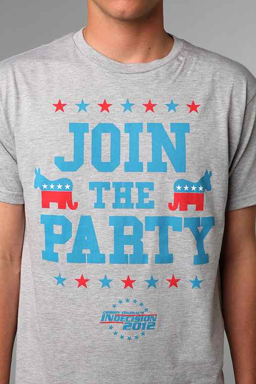 Comedy Central's Indecision 2012 Join The Party Tee