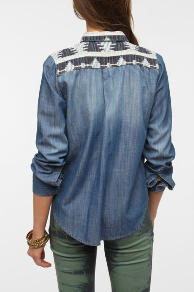 BDG x The Reformation Chambray Shirt