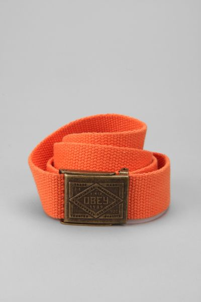 OBEY Trademark Camp Belt