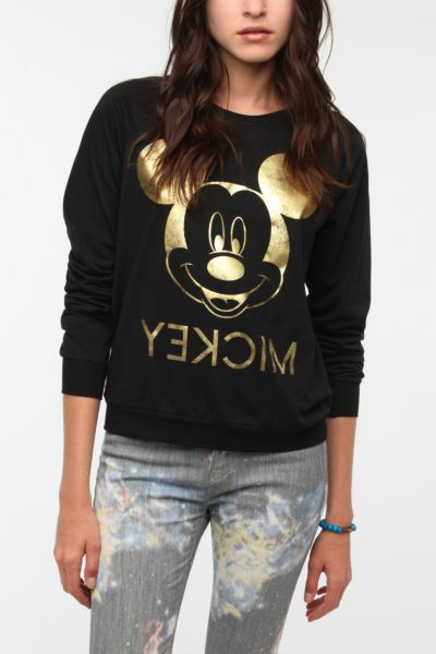 DOE Golden Mickey Long-Sleeved Tee