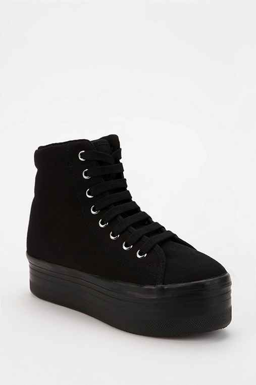 Jeffrey Campbell HOMG High-Top Flatform-Sneaker