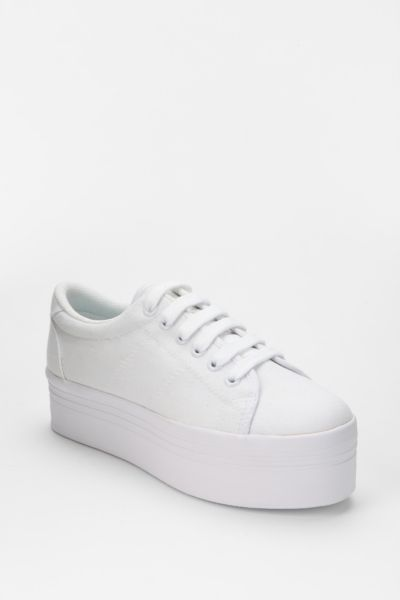 Jeffrey Campbell ZOMG Canvas Platform-Sneaker