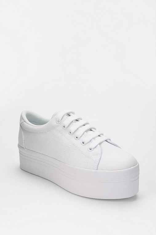 Jeffrey Campbell ZOMG Canvas Flatform-Sneaker