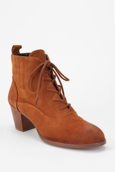 Dolce Vita Joli Suede Lace-Up Ankle Boot