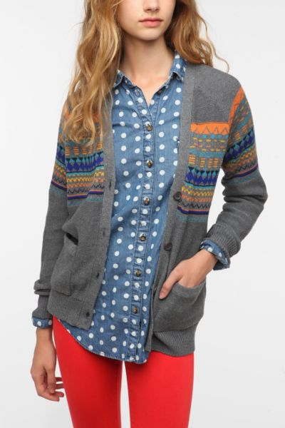 Love Madly Fair Isle Cardigan
