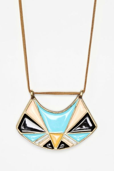 Colorstory by All For The Mountain Shield Necklace