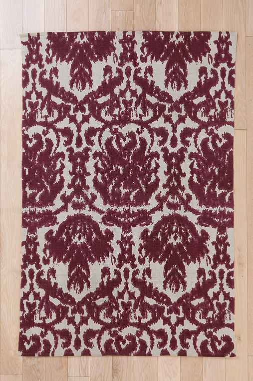 Plum & Bow Faded Damask Rug