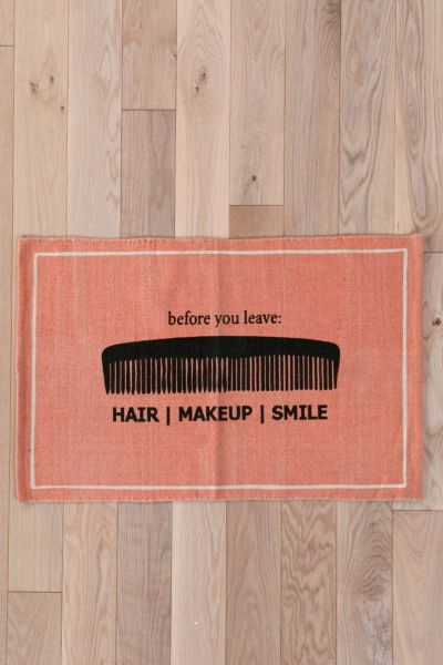 Hair/Makeup/Smile Welcome Mat