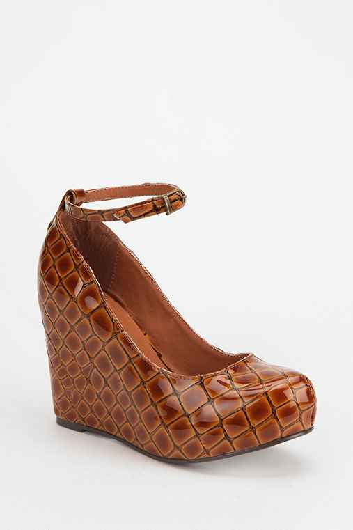 Jeffrey Campbell X UO Adelaide Crocodile Wedge