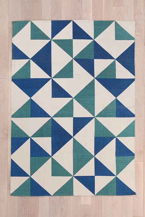 Assembly Home Rotating Triangle Handmade Rug