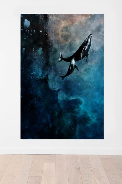 Alex Cherry Flying Whales Wall Mural