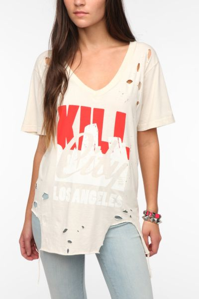 Kill City Distressed Graphic Tee