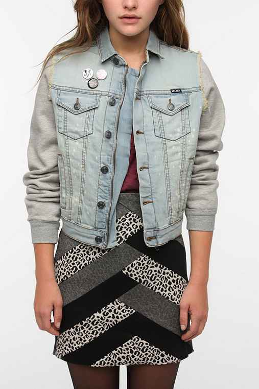 Kill City Denim Mix Trucker Jacket