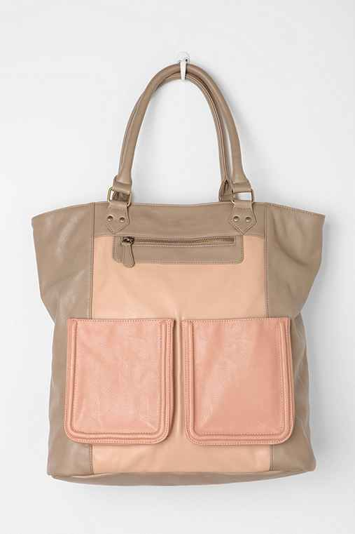 BDG Double-Pocket Tote Bag