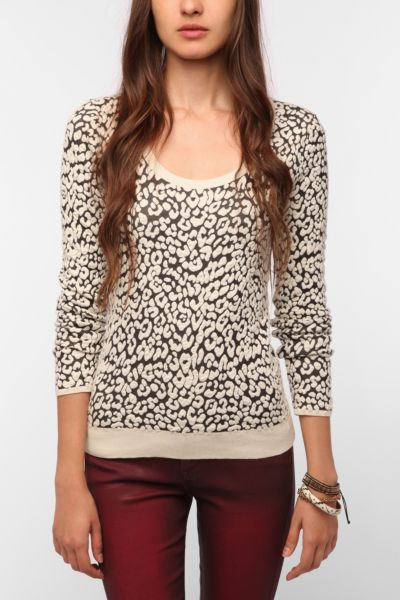Sparkle & Fade Textured Knit Sweater