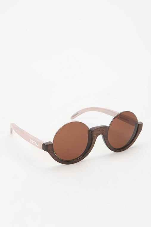 None The Wiser Wentworth Round Sunglasses