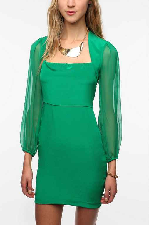 Naven Long-Sleeve Betty Dress